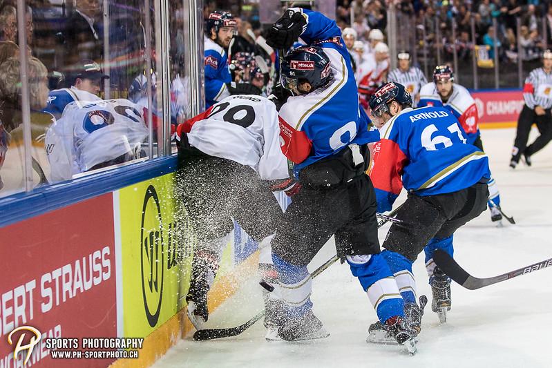 Champions Hockey League: EV Zug - JYP Jyväskylä - 6:3 - Bild-ID: 201709020956