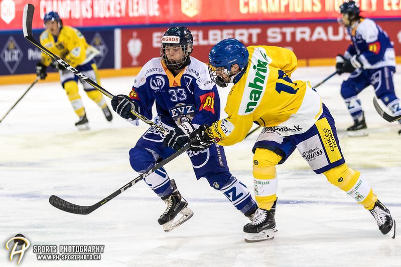 EVZ-Volksfest Vorbereitungsspiel: EVZ Team - HC Davos - 1:4 - Bild-ID: 201709010071