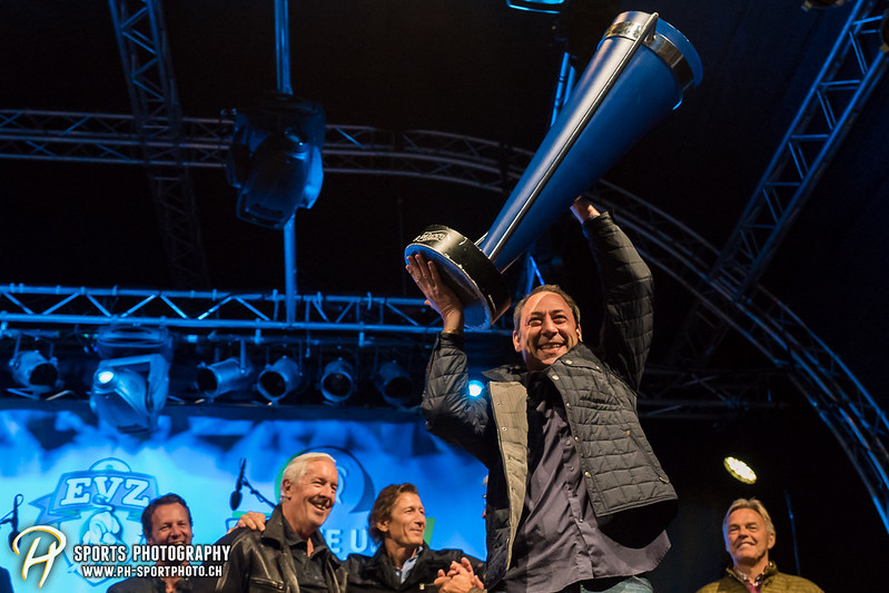 EVZ-Volksfest - Präsentation 1. Mannschaft des EV Zug und EVZ Legenden - Bild-ID: 201709020315