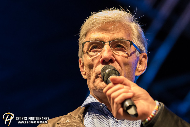 EVZ-Volksfest - Präsentation 1. Mannschaft des EV Zug und EVZ Legenden - Bild-ID: 201709020316