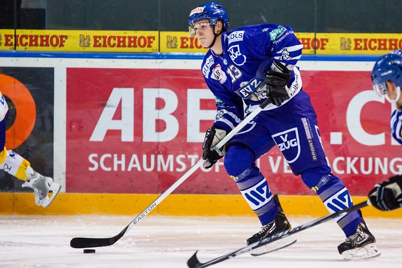 Junioren-Elite Tournament 2014 - Der EV Zug verliert gegen die Kloten Flyers 3:4