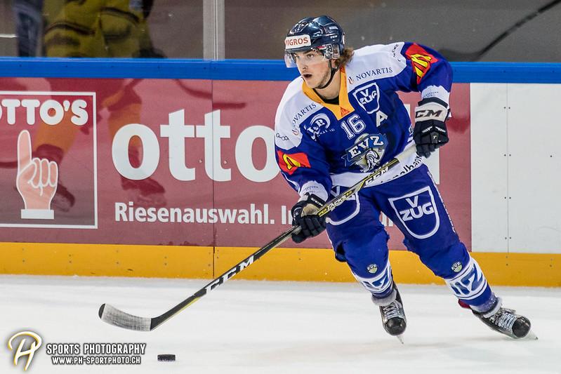 Freundschaftsspiel: EV Zug Elite A - Genève Futur Hockey - 5:3 - Bild-ID: 2017081600884