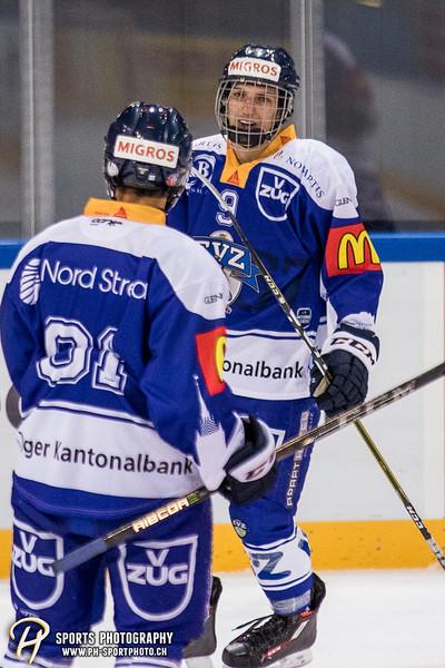 Freundschaftsspiel: EV Zug Elite A - Genève Futur Hockey - 5:3 - Bild-ID: 2017081600368
