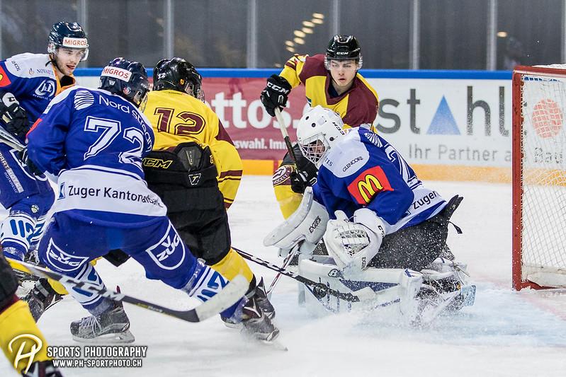 Freundschaftsspiel: EV Zug Elite A - Genève Futur Hockey - 5:3 - Bild-ID: 2017081601091