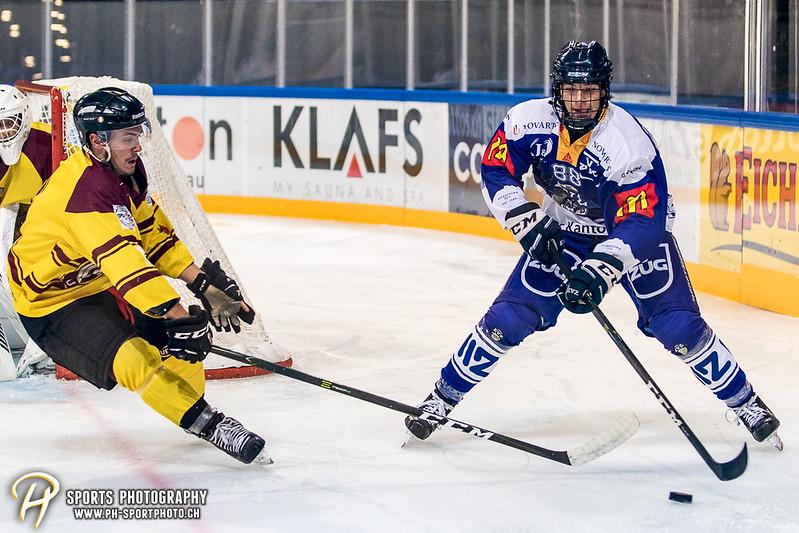 Freundschaftsspiel: EV Zug Elite A - Genève Futur Hockey - 5:3 - Bild-ID: 2017081601043