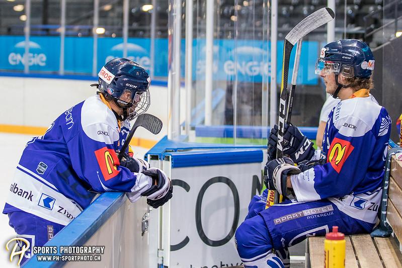 Freundschaftsspiel: EV Zug Elite A - Genève Futur Hockey - 5:3 - Bild-ID: 2017081600486
