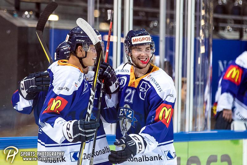 Freundschaftsspiel: EV Zug Elite A - Genève Futur Hockey - 5:3 - Bild-ID: 2017081601006