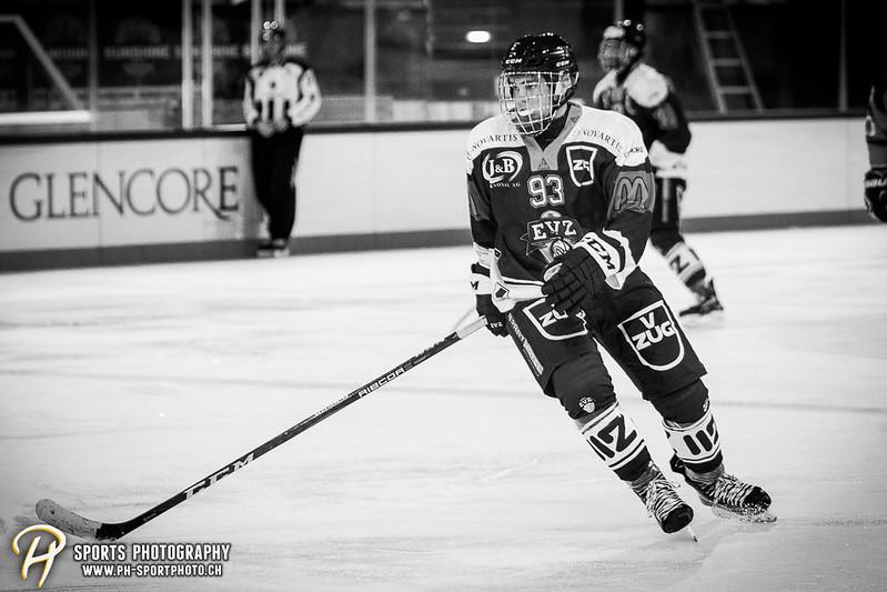 Freundschaftsspiel: EV Zug Elite A - Genève Futur Hockey - 5:3 - Bild-ID: 2017081601099