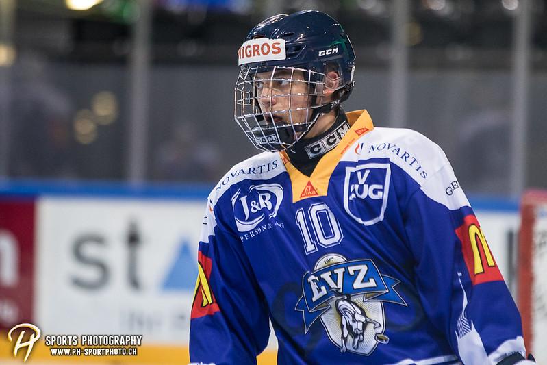 Freundschaftsspiel: EV Zug Elite A - Genève Futur Hockey - 5:3 - Bild-ID: 2017081600305