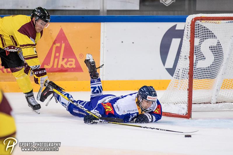 Freundschaftsspiel: EV Zug Elite A - Genève Futur Hockey - 5:3 - Bild-ID: 2017081600456