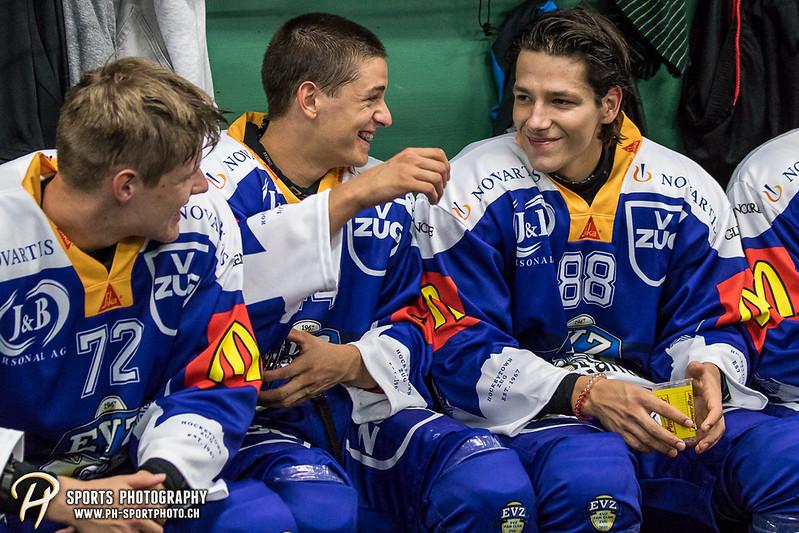 Freundschaftsspiel: EV Zug Elite A - Genève Futur Hockey - 5:3 - Bild-ID: 2017081600986