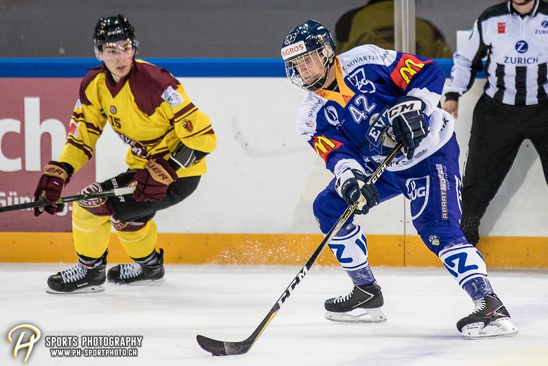 Freundschaftsspiel: EV Zug Elite A - Genève Futur Hockey - 5:3 - Bild-ID: 2017081600428