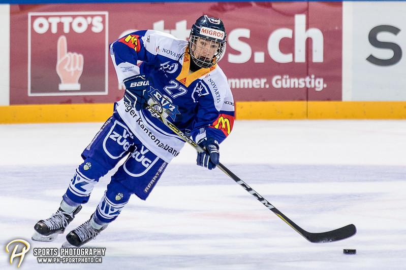 Freundschaftsspiel: EV Zug Elite A - Genève Futur Hockey - 5:3 - Bild-ID: 2017081600966