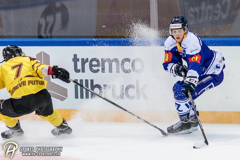 Freundschaftsspiel: EV Zug Elite A - Genève Futur Hockey - 5:3 - Bild-ID: 2017081600876