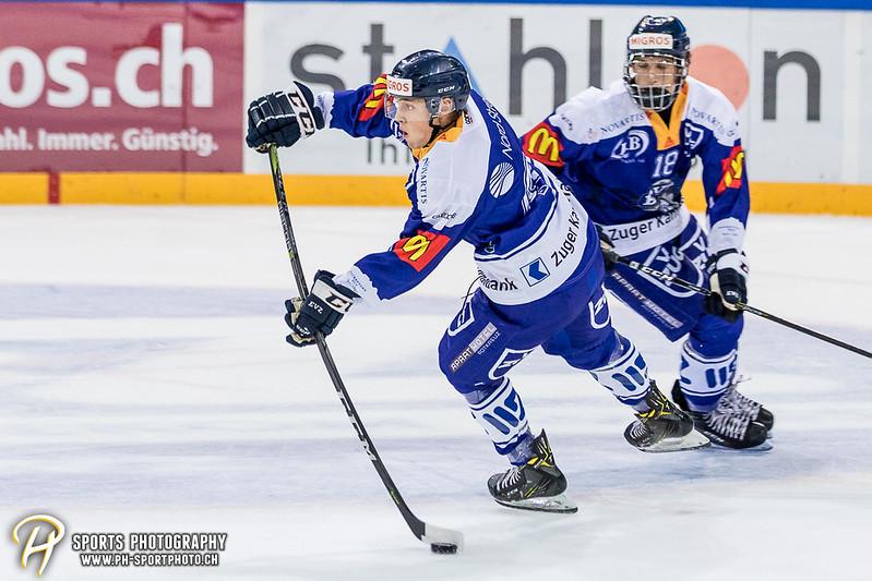 Freundschaftsspiel: EV Zug Elite A - Genève Futur Hockey - 5:3 - Bild-ID: 2017081600904