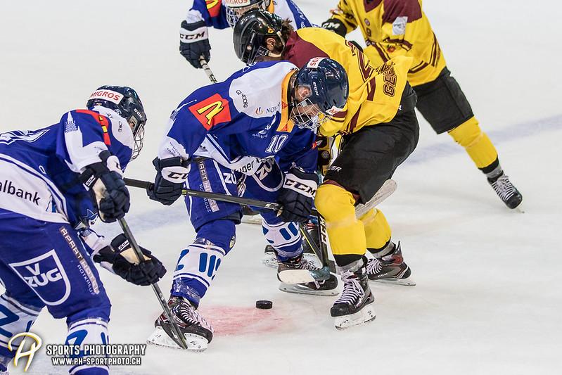 Freundschaftsspiel: EV Zug Elite A - Genève Futur Hockey - 5:3 - Bild-ID: 2017081600938