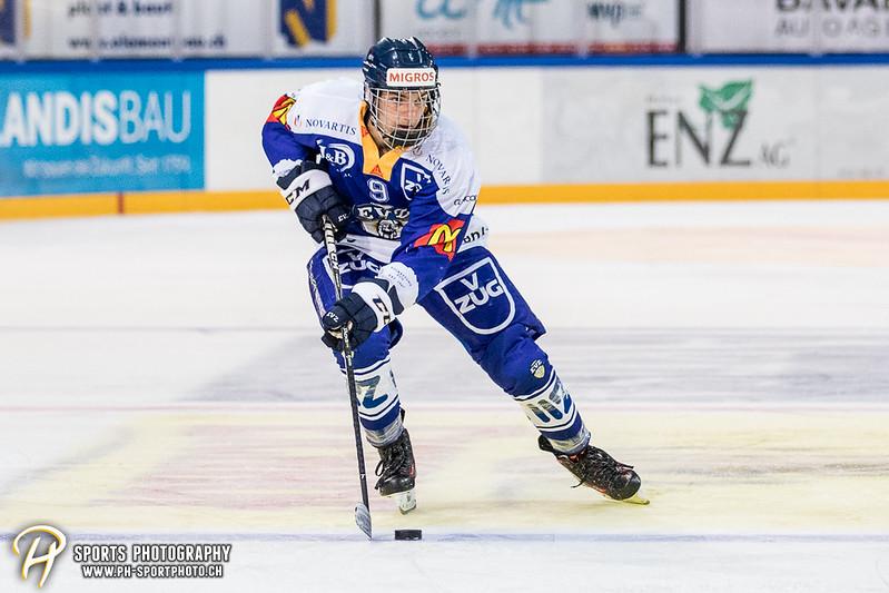 Freundschaftsspiel: EV Zug Elite A - Genève Futur Hockey - 5:3 - Bild-ID: 2017081600529