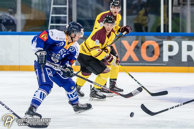 Freundschaftsspiel: EV Zug Elite A - Genève Futur Hockey - 5:3 - Bild-ID: 2017081600522