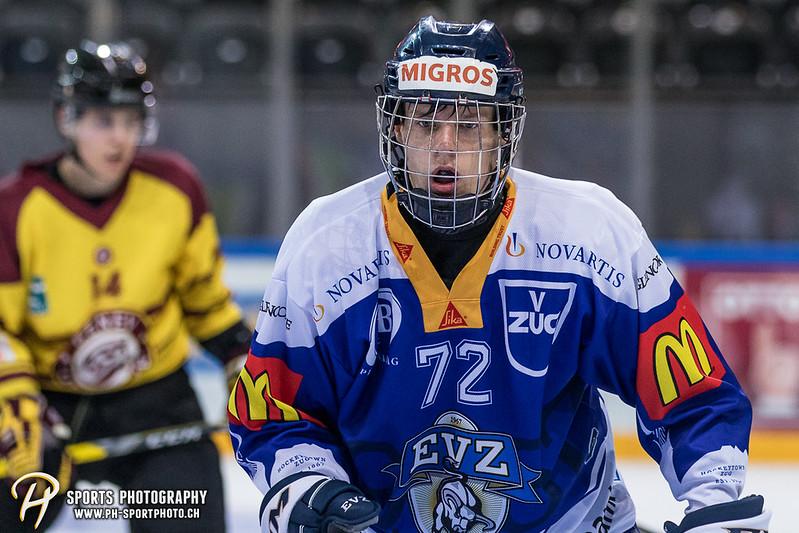 Freundschaftsspiel: EV Zug Elite A - Genève Futur Hockey - 5:3 - Bild-ID: 2017081600569