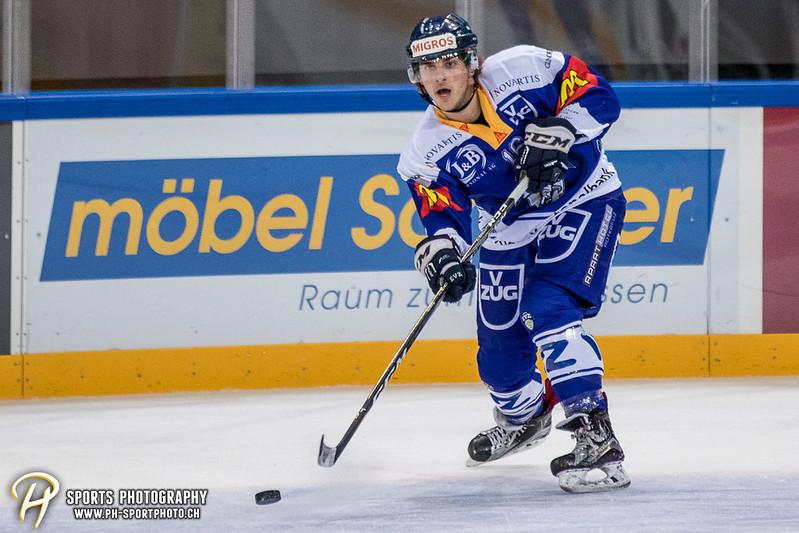 Freundschaftsspiel: EV Zug Elite A - Genève Futur Hockey - 5:3 - Bild-ID: 2017081600412