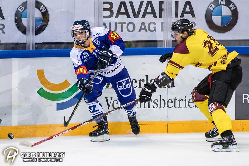 Freundschaftsspiel: EV Zug Elite A - Genève Futur Hockey - 5:3 - Bild-ID: 2017081600414