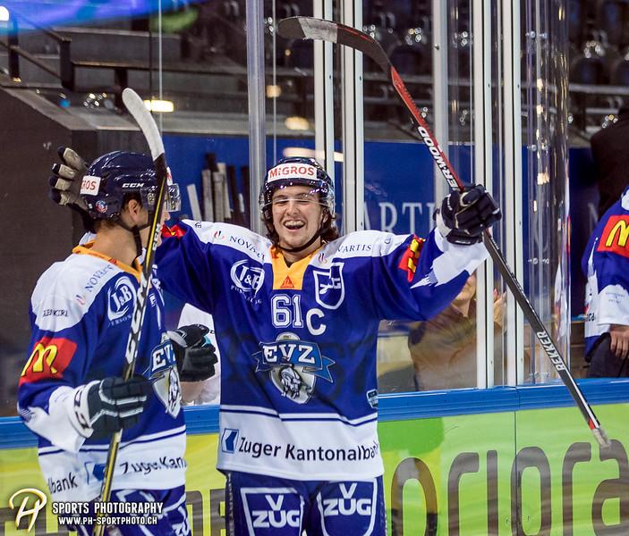 Freundschaftsspiel: EV Zug Elite A - Genève Futur Hockey - 5:3 - Bild-ID: 2017081601002
