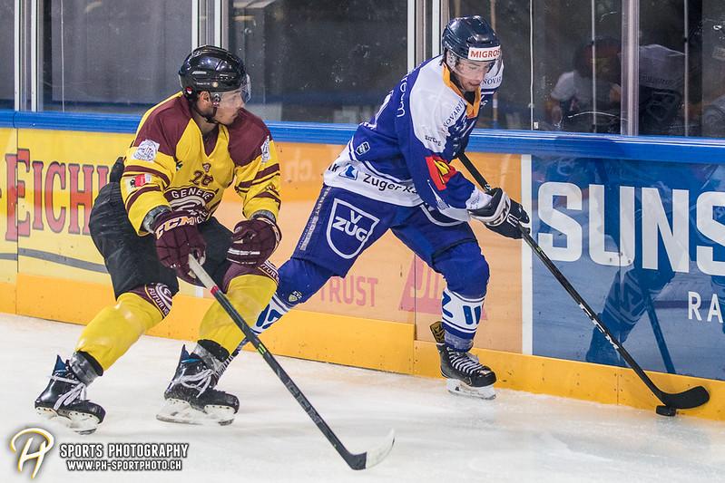 Freundschaftsspiel: EV Zug Elite A - Genève Futur Hockey - 5:3 - Bild-ID: 2017081600524