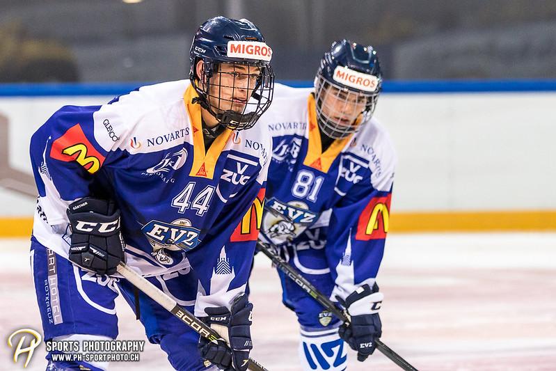 Freundschaftsspiel: EV Zug Elite A - Genève Futur Hockey - 5:3 - Bild-ID: 2017081601027