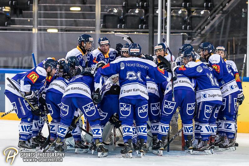 Freundschaftsspiel: EV Zug Elite A - Genève Futur Hockey - 5:3 - Bild-ID: 2017081600813