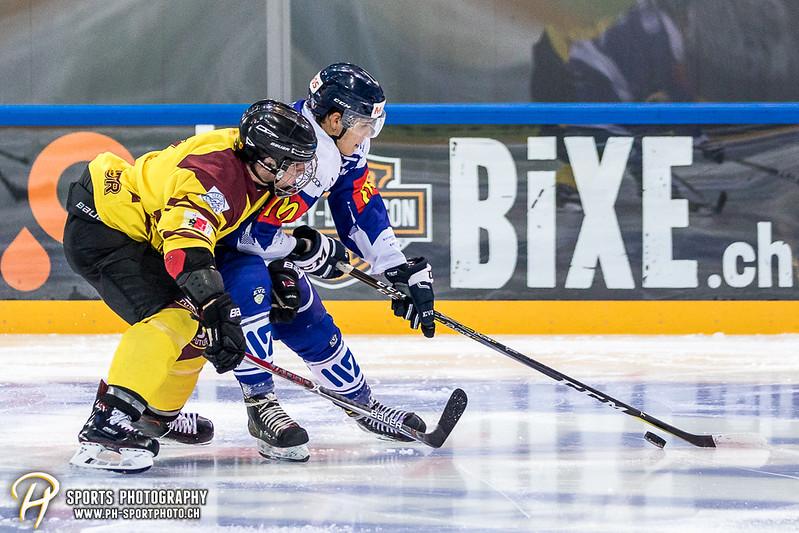 Freundschaftsspiel: EV Zug Elite A - Genève Futur Hockey - 5:3 - Bild-ID: 2017081601011