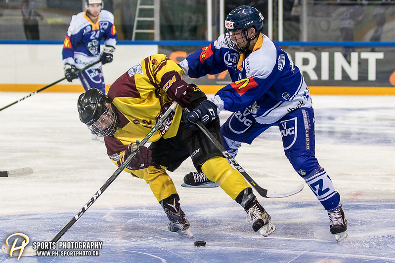 Freundschaftsspiel: EV Zug Elite A - Genève Futur Hockey - 5:3 - Bild-ID: 2017081601083