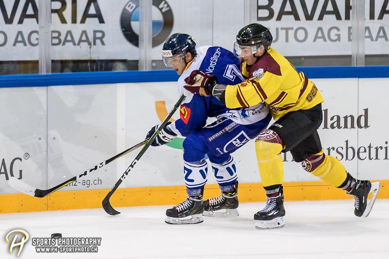 Freundschaftsspiel: EV Zug Elite A - Genève Futur Hockey - 5:3 - Bild-ID: 2017081600883