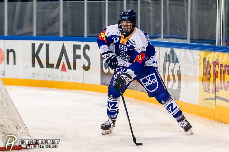 Freundschaftsspiel: EV Zug Elite A - Genève Futur Hockey - 5:3 - Bild-ID: 2017081601041