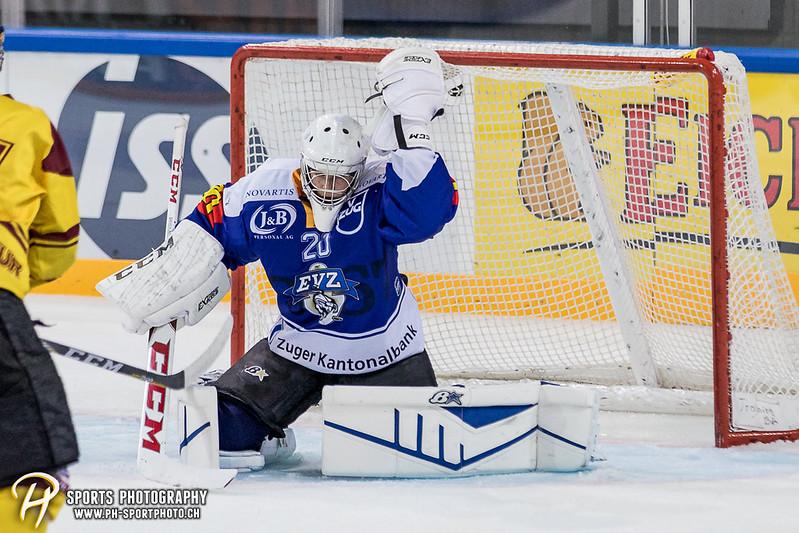 Freundschaftsspiel: EV Zug Elite A - Genève Futur Hockey - 5:3 - Bild-ID: 2017081600899