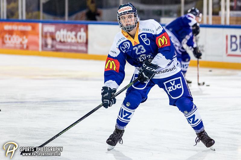 Freundschaftsspiel: EV Zug Elite A - Genève Futur Hockey - 5:3 - Bild-ID: 2017081600322