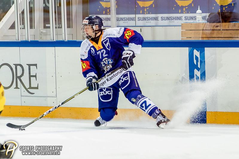 Freundschaftsspiel: EV Zug Elite A - Genève Futur Hockey - 5:3 - Bild-ID: 2017081601055