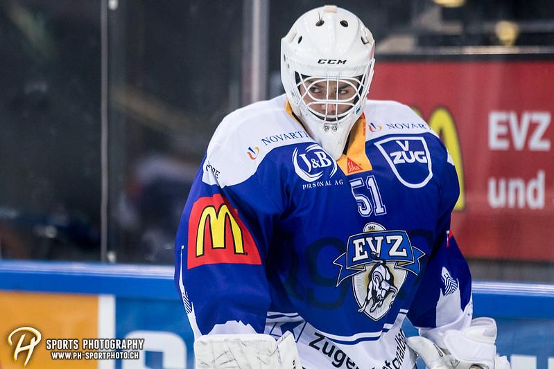 Freundschaftsspiel: EV Zug Elite A - Genève Futur Hockey - 5:3 - Bild-ID: 2017081600306
