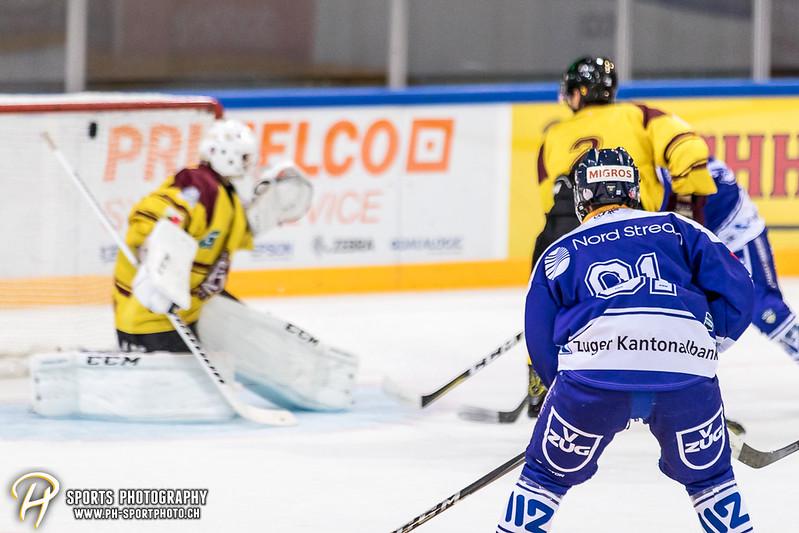Freundschaftsspiel: EV Zug Elite A - Genève Futur Hockey - 5:3 - Bild-ID: 2017081600834