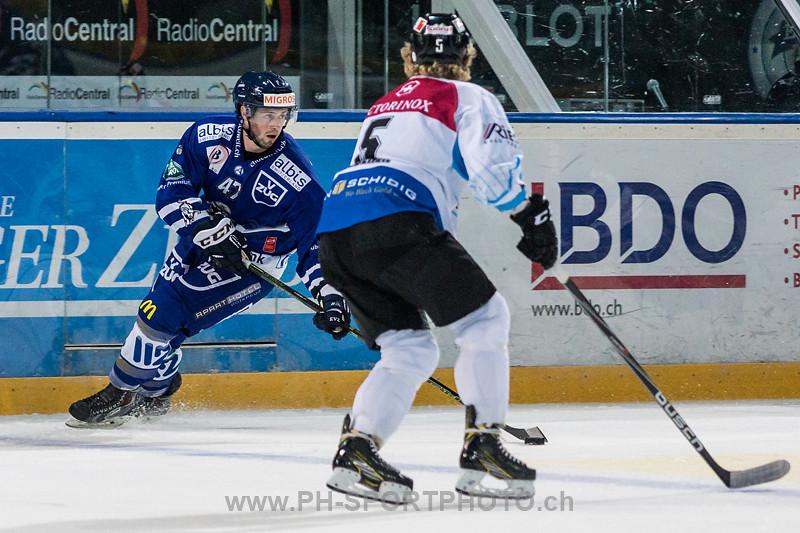 Elite A Junioren Freundschaftsspiel: EV Zug - EHC Seewen - 2:3 n.V.