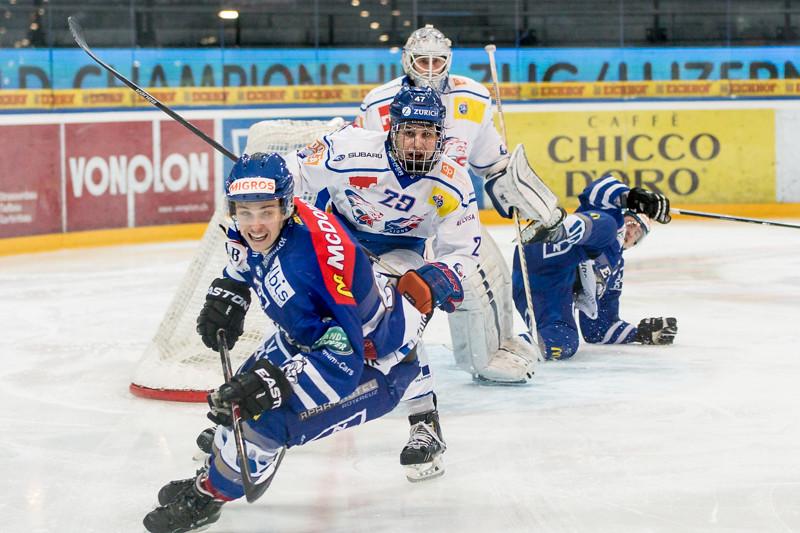 Elite A Junioren 2014/15 - Der EV Zug ist Vizemeister nach der dritten Niederlage gegen die GCK Lions