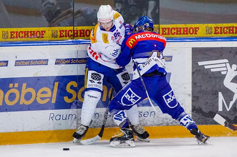 Elite A Junioren 2014/15 - Der EV Zug gewinnt gegen die Kloten Flyers 3:1