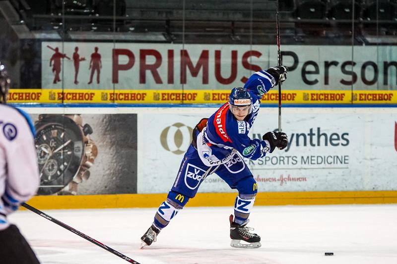Elite A Junioren 2014/15 - Der EV Zug verliert knapp gegen Gottéron MJ Sàrl 4:5