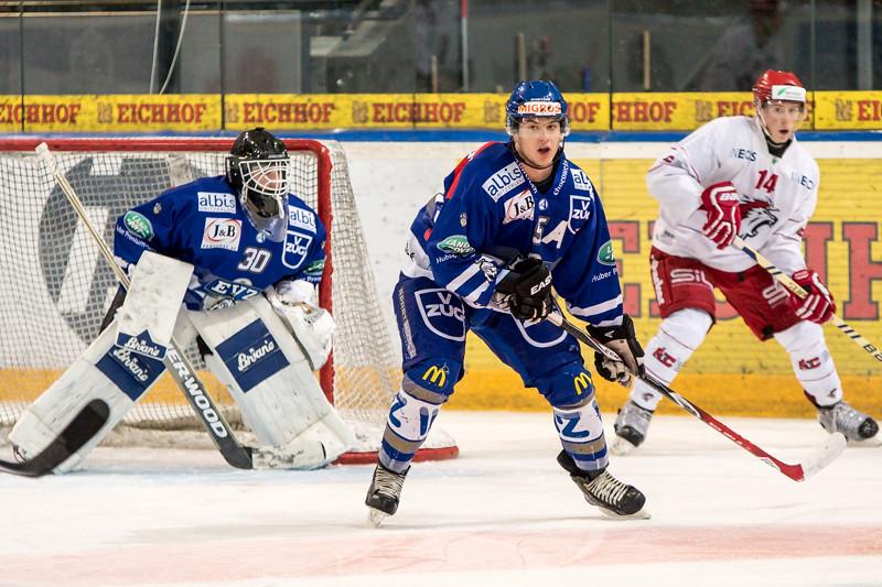 Elite A Junioren 2015/16 - EV Zug verliert gegen Lausanne 4 Clubs 2:5