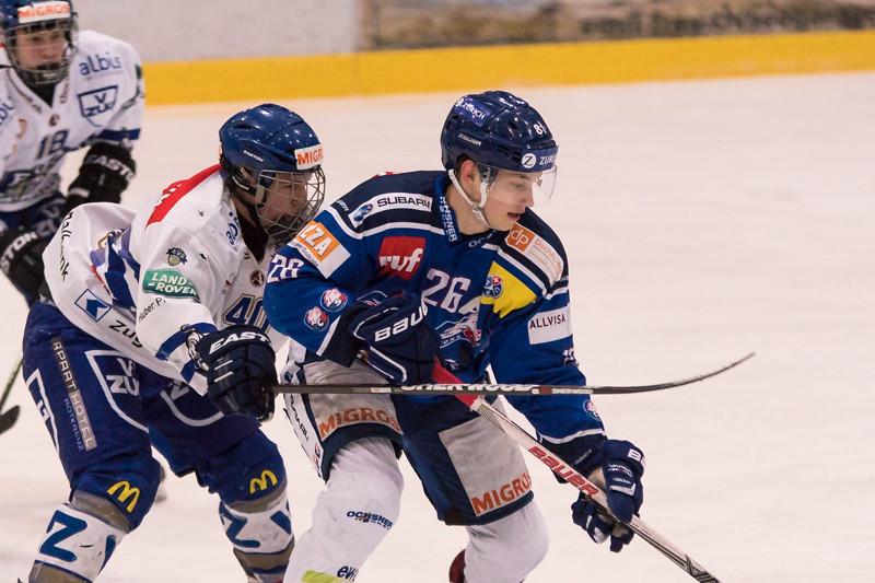 Elite A Junioren 2015/16 - EV Zug verliert auswärts gegen die GCK Lions 5:6