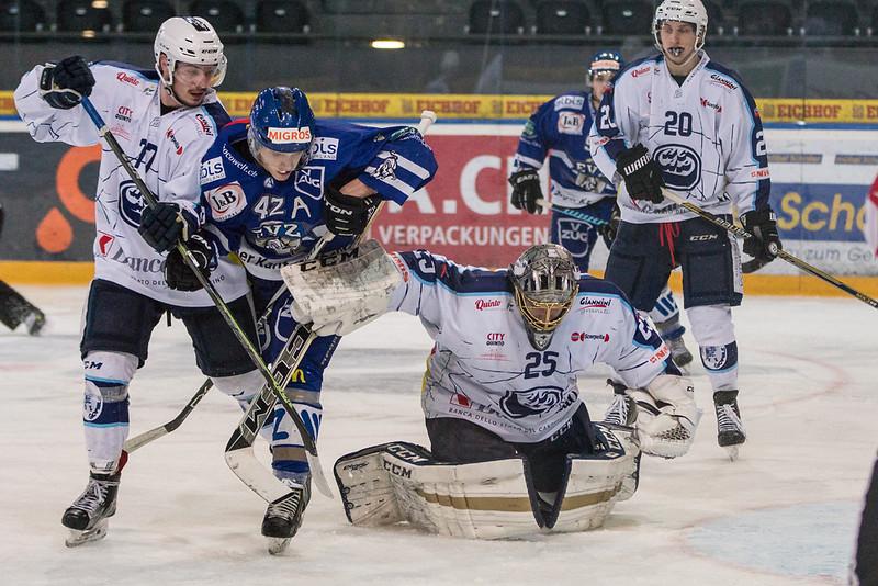 Elite A Junioren 2015/16 - Der EV Zug gewinnt im dritten Playoff 1/4-Finalspiel gegen HC Ambri Piotta 4:2.