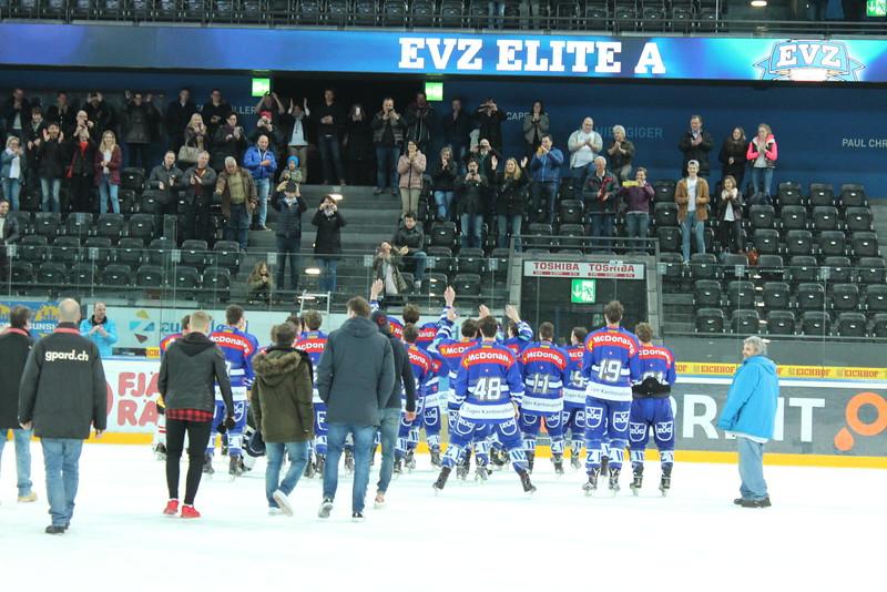 Elite A Junioren 2015/16 - Der EV Zug gewinnt die Bronze Medaille