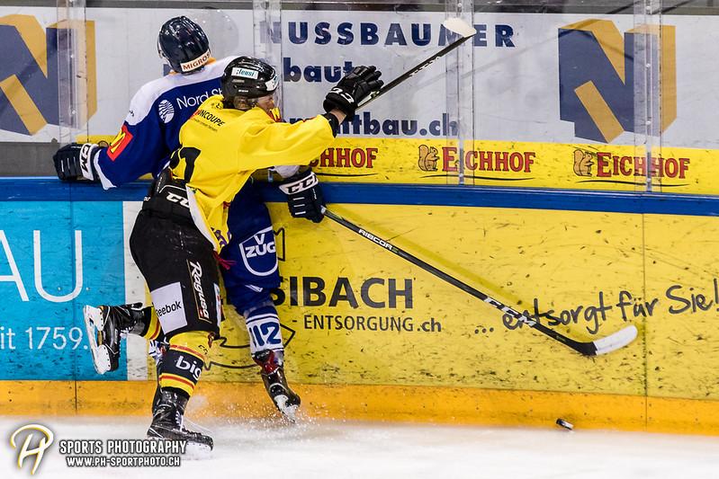 Junioren Elite A: EV Zug - SC Bern Future - 4:1