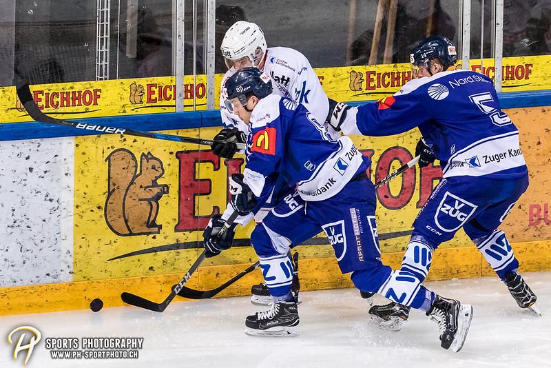 Ellite A Junioren Playoffs - Viertelfinal - Spiel 2: EV Zug - EHC Kloten - 2:0