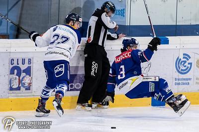 Junioren Elite A - Halbfinal - Spiel 4: GCK Lions - EV Zug - 2:1