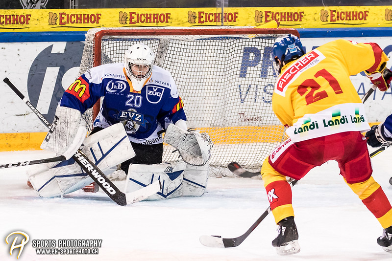 Junioren Elite A - Bronzemedaille-Spiel: EV Zug - EHC Biel-Bienne Spirit - 3:1